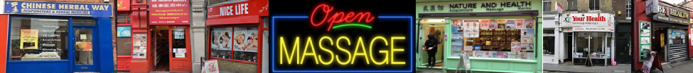 Chinese Massage Shop Directory and Chinese massage map uk